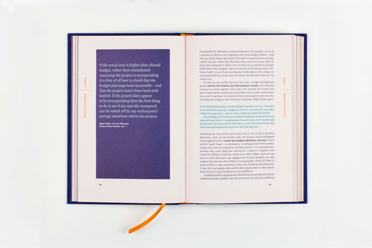 Adrian George: The Curator's Handbook, book design
