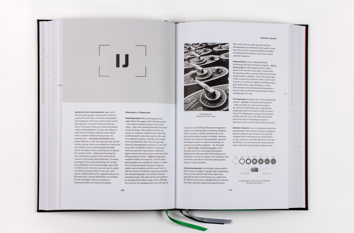 Dictionary of Photography, spread